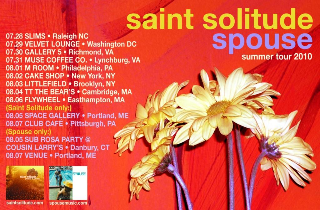 Saint Solitude Summer Tour 2010